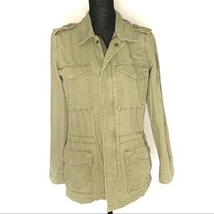 Urban Outfitters ecote Army Green Military Coat S